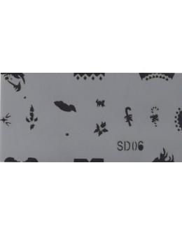 Szablon do pistoletu Airbrush Stencil SD06