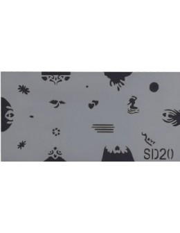 Szablon do pistoletu Airbrush Stencil SD20