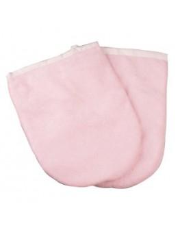 Rękawice ocieplane (para) - różowe