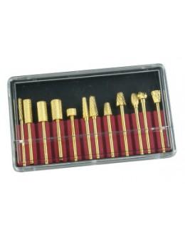 Zestaw frezów karbidowych Carbid Drills Set - 12szt.