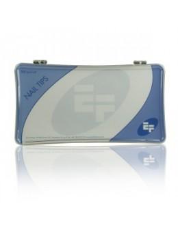 Tipsy przezroczyste ozdobne EF 500szt. - z głęboką linią uśmiechu