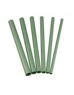 Rurki EF Artificial Nail Tool 6szt. - zielone