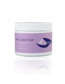 Żel 4Pro Nail Tech 60ml - Clear Gel