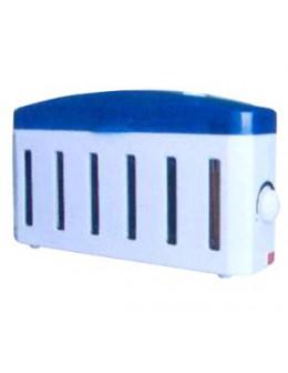 Podgrzewacz wosku Electronic Temperature Adjustment (na 6 wosków) - biało-niebieski