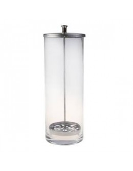 Pojemnik do sterylizacji szklany - tuba