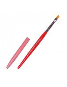 Pędzelek do żelu ImpressioNails Flat Gel Brush nr 6
