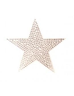 Naklejki z cyrkoniami Rhinestones Stickers - srebrna gwiazdka