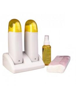 Podgrzewacz wosku osobisty-podwójny Depilatory Heater 7w1 (z zestawem)