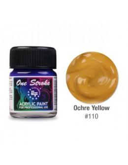 Farbka akrylowa do zdobienia paznokci 15ml - Ochre Yellow