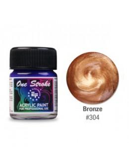 Farbka akrylowa do zdobienia paznokci 15ml - Bronze