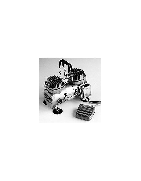 Su-Do TC2000 Twin Cylinder Mobile Compressor w / Airline - 1 2 CFM (60 PSI  max)