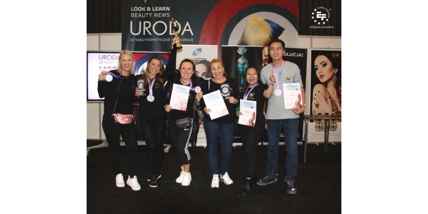 Euro Fashion Instructors and Nail Artists on the Nail Master Cup podium!